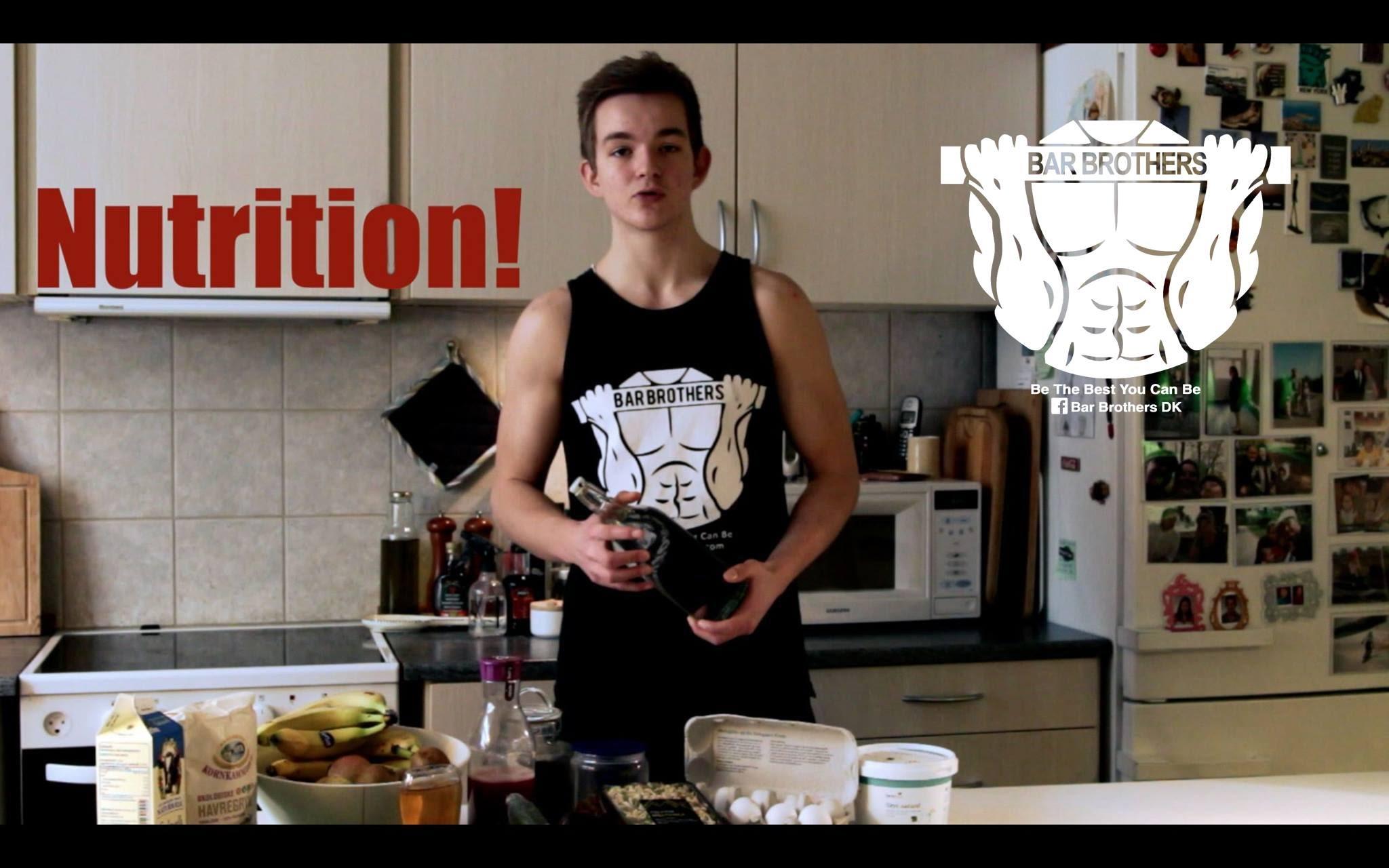 Charmant Nutrition Guide (Food)   Beginners, Teenagers   Bar Brothers DK  (Calisthenics)