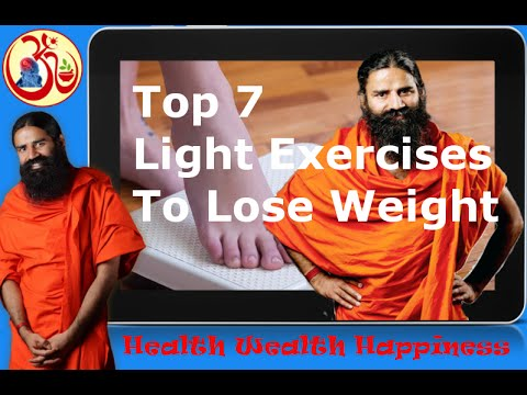 Top 7 light exercises to lose weight baba ramdev yoga youtube ccuart Gallery