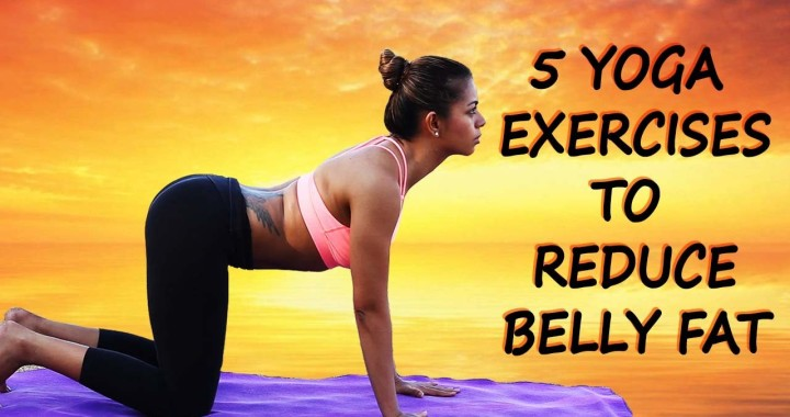 5 Best Yoga Exercises To Reduce Belly Fat Simple Poses Weight In