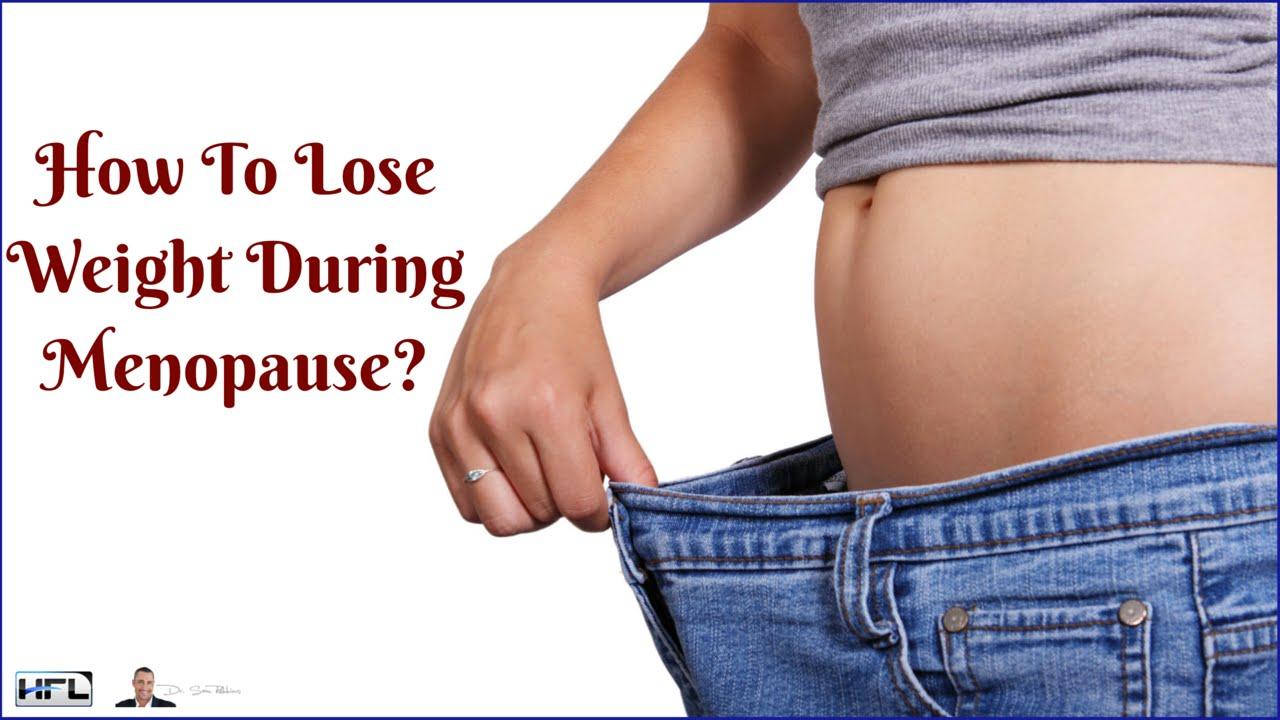 post menopausal weight loss plan