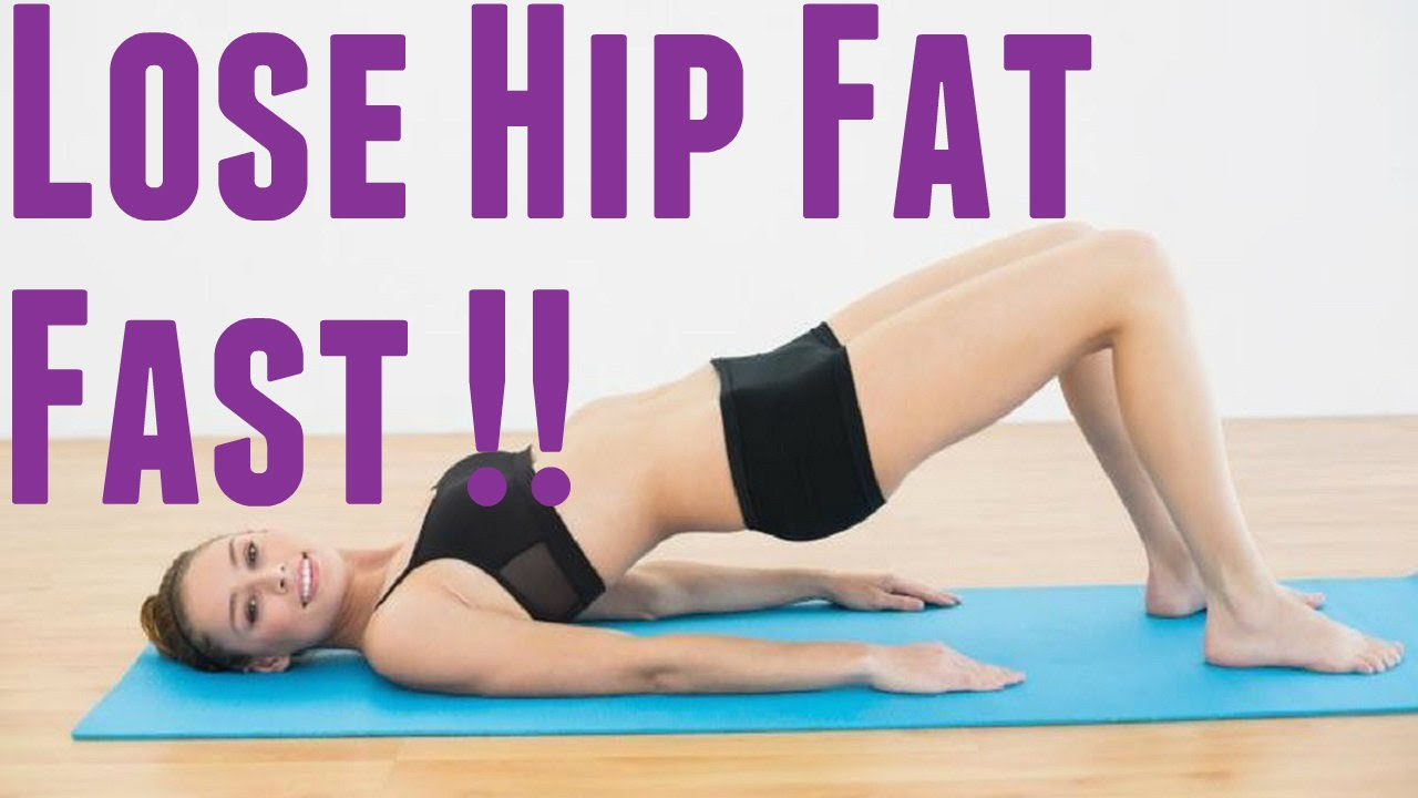 How to Lose Hip Fat | Slim your Hips Workout | how to ...