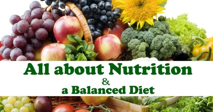 A healthy, balanced diet