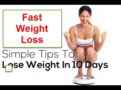 How To Lose Weight Fast In 10 Days For Women At Home