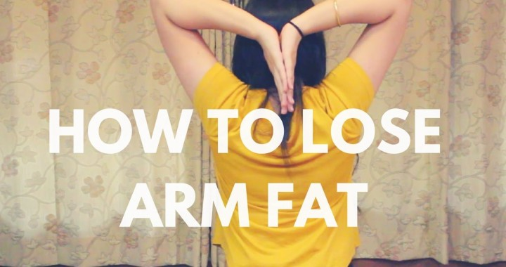how to lose arm fat quick