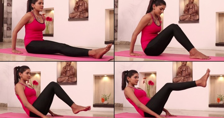 Yoga to Reduce Belly Fat and more   Noukasana