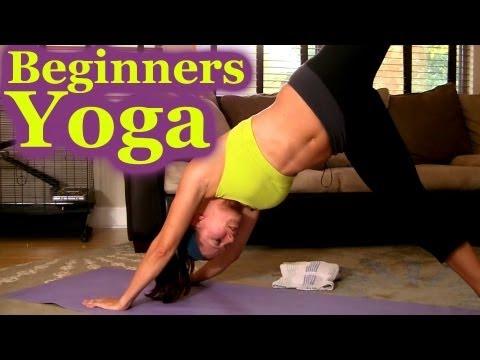 beginners yoga full body workout  dena psychetruth