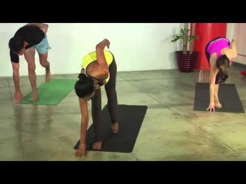 yoga for weight loss  40 minute fat burning yoga workout