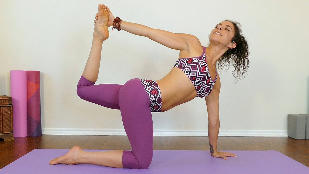 Yoga for Belly Fat with Jess ♥ Abs, Core, Obliques Workout ...